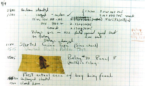 When Computer Bugs Were Actual Insects